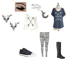 Cabin 8: Artemis by saaaamgames on Polyvore featuring polyvore, fashion, style, WearAll, Converse, Frye, Zad and Amrita Singh