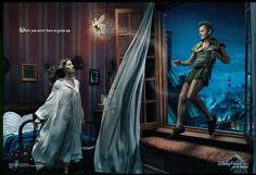I love these Disney prints by Annie Leibovitz-Tina Fey & Mikhail Baryshnikov