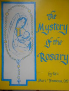 84 best catholic images on pinterest catholic roman catholic and the mystery of the rosary by rev marc tremeau paperback 1982 catholic book publishing fandeluxe Choice Image