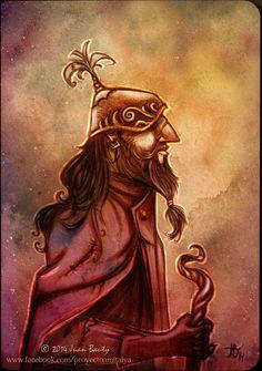 Another #characterdesign for #fantasy #book by Cristina Puig & Juan Bauty: https://www.facebook.com/proyectoamitalya