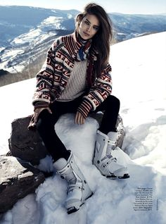 ☆ Emily DiDonato | Photography by Benny Horne | For Vogue Magazine Australia | June 2014 ☆ #Emily_DiDonato #Benny_Horne #Vogue #2014