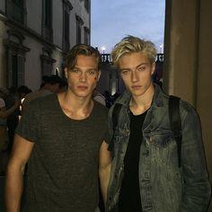 Lucky Blue Smith & Matthew Noszka
