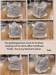 Picasso vases.....Fired pots