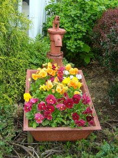 Pump trough garden#Pin By:Pinterest++ for iPad#