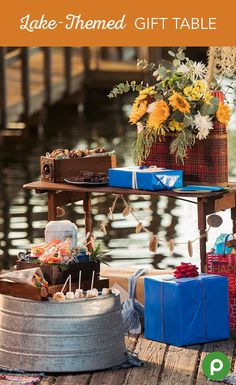 Start the birthday off right. Set up a table for party favors and gifts at the entrance of the party to set the tone of the party right away. If you need more party ideas for unforgettable moments, Publix can help in all sorts of ways, including party platters, custom-decorated birthday cakes, and even floral arrangements.