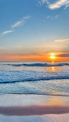 Westerland sunset - Sonnenuntergang am Meer - Beautiful Nature Wallpaper, Beautiful Ocean, Beautiful Sunrise, Beautiful Beaches, Beautiful Landscapes, Look Wallpaper, Sunset Wallpaper, Sunset Photography, Landscape Photography