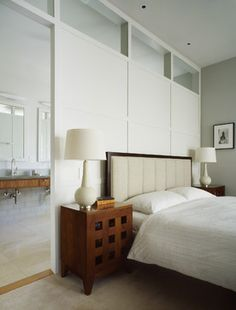 Contemporary Bedroom bedroom closet layout Design Ideas, Pictures, Remodel and Decor