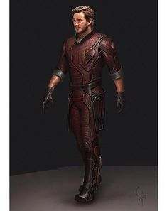 Guardians of the Galaxy #StarLord #ConceptArts #GotG