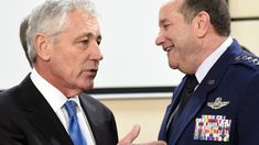 Chuck Hagel: Trump 'an embarrassment' — CNN https://apple.news/AqL3ljMyYT1uP9OY00UwISA?utm_content=buffer8225f&utm_medium=social&utm_source=pinterest.com&utm_campaign=buffer