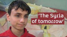 Syrian war: the boy who dreams of rebuilding Aleppo