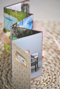 Homemade photo album craft - great gift idea!