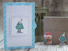 Weihnachtskarten selber basteln #Freebie #DIY #Digistamp #Miezo #Cardstock #Silhouette #Cameo #Portrait #Digipaper #Print_Cut #letter
