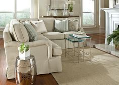 love the small sectional