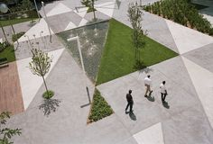 Urban design for a public square in Rozzano, a suburb of Milan, offering the local community a flexible and shared outdoor space. The aim of this project was...
