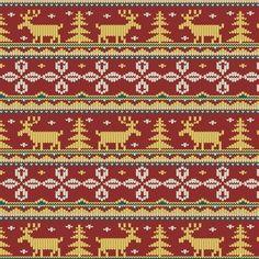 Ribbon On Christmas Tree, Christmas Knitting, Free Pattern, Vector Free, Bohemian Rug, Cross Stitch, Prints, Beautiful, Xmas