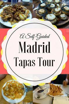 MADRID TAPAS SELF-GUIDED TOUR