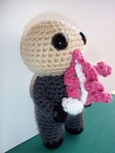 Crocheted Ood!!