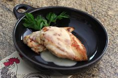 chicken and veloute sauce