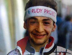 A young #MarcoPantani