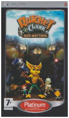 Ratchet  Clank Size Matters  Platinum Edition PSP -- Read more  at the image link.