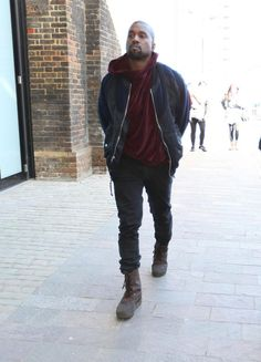 kanye west tan combat boots - Google Search