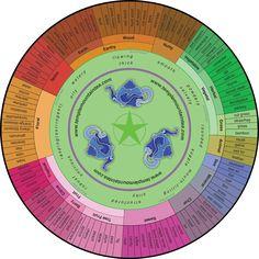 Temple Mountain tea flavor wheel