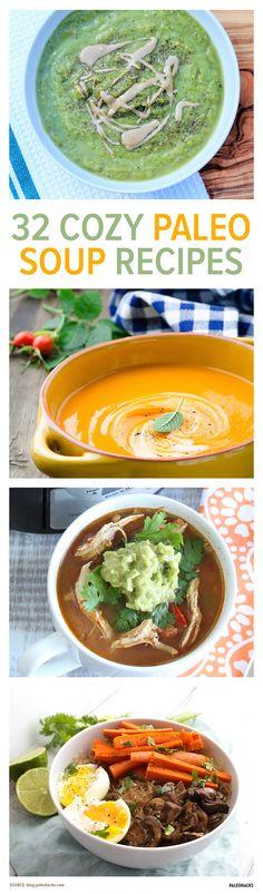 32 Cozy Paleo Soup Recipes