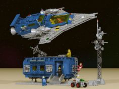 """""""LL928 Comes Home"""" LEGO Ideas Project 02 