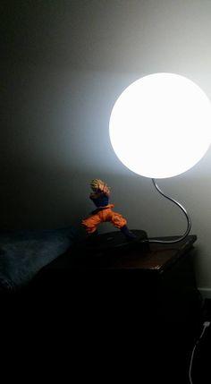 Goku Kamehameha Lamp owned by Nic Scott Beumer