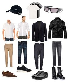 """Eqqel Style"" by arini-lioni on Polyvore featuring Nautica, Michael Kors, Paul Smith, Joseph, Hollister Co., Yves Saint Laurent, Carhartt, Calvin Klein 205W39NYC, New Balance and Brooks Brothers"