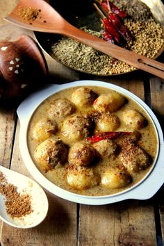 Doi Dum Aloo Recipe. Kashmiri Aloo Dum is a recurrent feature on menus at Bengali weddings. Of course, those who have sampled the real deal, will call bluff,...