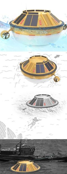 If only Titanic happened around 2015. Jack would have sailed to the nearest Solar Water Still on some debris and would have been just fine! The Solar Water Still is a buoy that does much more than bob up and down on water. It harnesses solar energy and also tidal power to constantly purify sea water into fresh water. Enough for ships and boats to be able to stock up on drinkable water even when they're out in the middle of the ocean. Apart from that, it also houses an SOS signal system and…