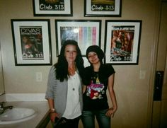 me and my mama at club!!
