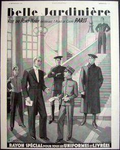the 1930s- 1934 belle jardinière hotel staff uniforms by april-mo, via Flickr