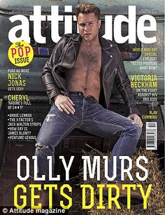 Photographed for the Pop issue of British magazine Attitude, singers Nick Jonas and Olly Murs get the honor of covering December's issue. Memo Boards, Nick Jonas, Olly Murs Shirtless, Oly Murs, British Magazines, Cheryl Fernandez Versini, Perfume Genius, World Aids Day, Cover Boy