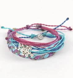 LOVE these bracelets! I really like all of the colors! PacSun has the cutest jewelry! #GSOM
