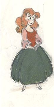 The Little Mermaid  A cute Ariel concept.  Art from the special edition The Little Mermaid DVD.