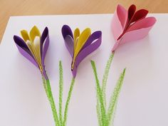 Best Picture For DIY Mothers Day videos For Your Taste You are looking for something, and it is going to tell you exactly what you are looking for, and you didn't find that picture. Here you will find Mothers Day Crafts For Kids, Spring Crafts For Kids, Paper Crafts For Kids, Diy For Kids, Easy Crafts, Diy And Crafts, Arts And Crafts, Handmade Flowers, Diy Flowers