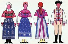 Folk Costume, Costumes, Russian Architecture, Folk Clothing, Folk Embroidery, Ronald Mcdonald, Regional, Fictional Characters, Vaseline