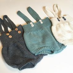 Tre ganger favoritt ☺️ #favoritt #barnetøy #babyclothes #shorts #romper #strikking #babystrikk #axelshorts #mamaknit #mormorstrikk #knitting #knittersofinstagram #babyknits