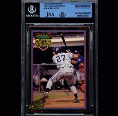 Derek Jeter Yankees 1995 JSA Beckett Signed Autographed 6721303 | eBay #derekjeter #jeter #yankees #1995 #beckett #signedcard #autograph