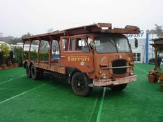 50's Fiat 643N Ferrari Transporter, Gooding Pebble Beach auction 2007 (two rear axles)