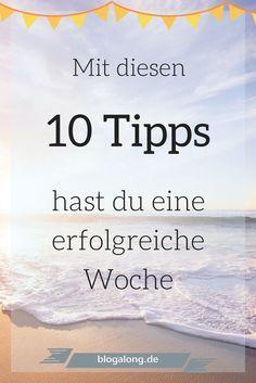 Wochenstart: Mit diesen 10 Tipps hast du eine erfolgreiche Woche #produktiv #routine #haushalt