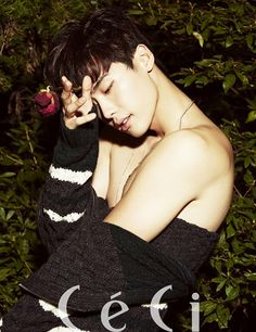 Lee Jong Seok Is Stripped And Bound In CéCi's October 2013 Issue : Couch Kimchi