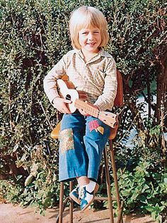 Keith Urban at a Young Age.