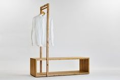 Ideas for clothes hanger storage ideas simple