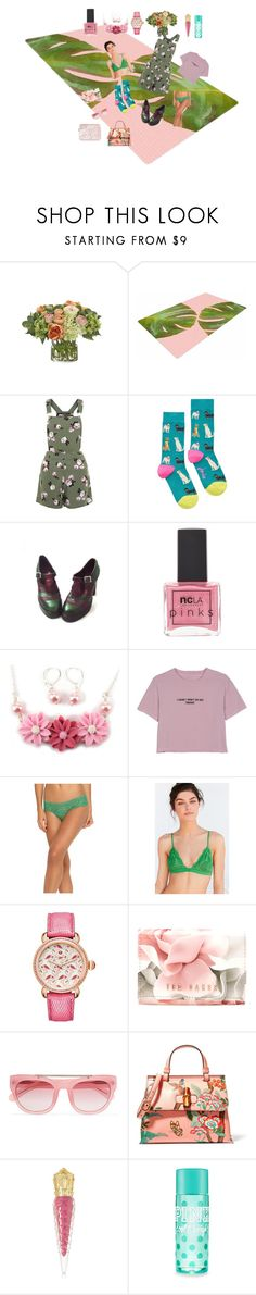 """""""Lets Go"""" by alexxa-b ❤ liked on Polyvore featuring NDI, New Look, Joules, ncLA, WithChic, STELLA McCARTNEY, Out From Under, Michele, Ted Baker and Erdem"""