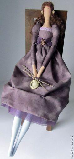 Куклы Тильды ручной работы. Ярмарка Мастеров - ручная работа Лавандовая принцесса в стиле Тильда. Handmade.