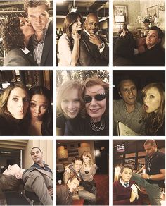 The Castle cast behind the scenes