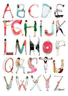 Portfolio of illustrator and author Kevin Ward. Typography Alphabet, Hand Lettering Fonts, Calligraphy Alphabet, Types Of Lettering, Typography Fonts, Lettering Design, Fonte Alphabet, Alphabet Design, Alphabet Art